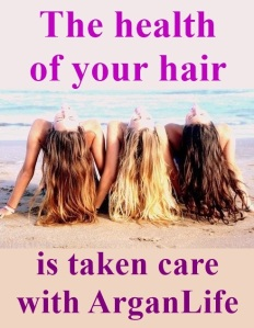 ARGANLife hair care products for all types of hair